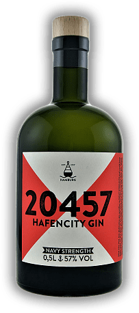 20457 Hafencity Gin Navy Strength 57%