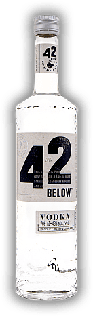 42 Below Vodka New Zealand 40%