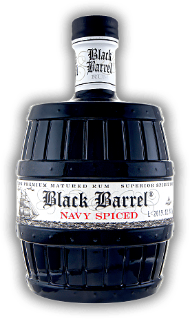 A.H. Riise Black Barrel Premium Navy Spiced