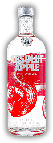 Absolut Äpple Vodka 1,0 Liter