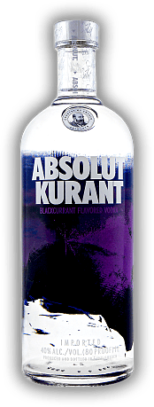 Absolut Kurant Vodka 1,0 Liter