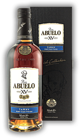 Abuelo XV Anos Tawny Port Cask Finish