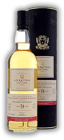 Ardmore A.D. Rattray 9 Years 2010/2020 Bourbon Barrel 56,5% excl. for Alba