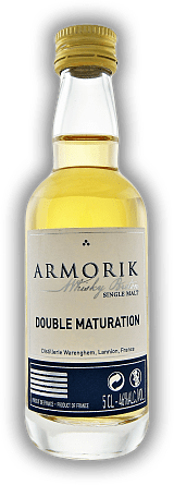 Armorik Double Maturation Single Malt Whisky de Bretagne 0,05 Liter