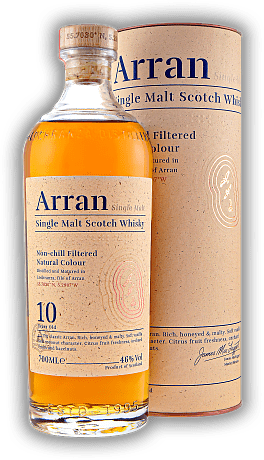 Arran 10 Years Non Chill Filtered