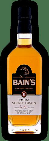 Bain 39 s cape mountain whisky single grain 0 70 liter vol for Bain s cape mountain whisky