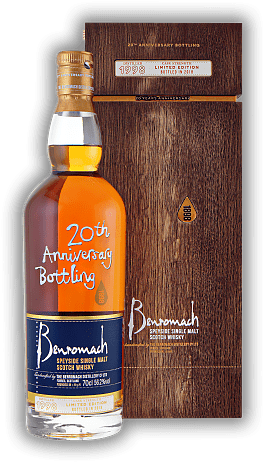 Benromach 20th Anniversary Bottling 1998/2018 56,2%