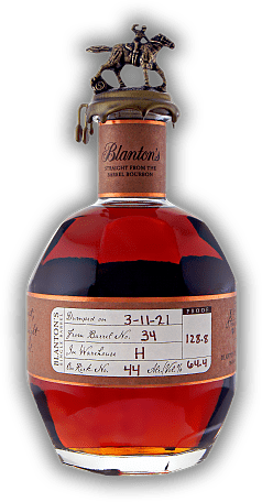 Blanton's Straight from the Barrel 63-67%