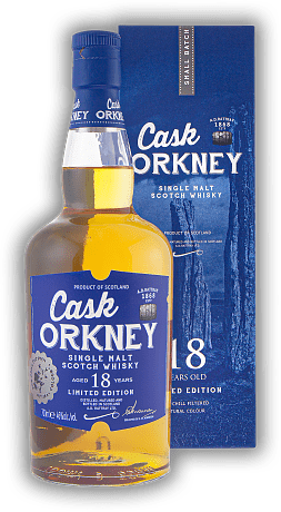 Cask Orkney A.D. Rattray 18 Years 46%