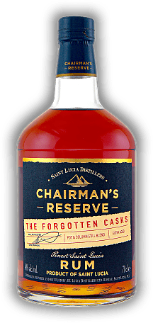Chairman's Reserve The Forgotten Casks from St. Lucia