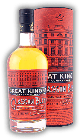 Compass Box Great King Street Glasgow Blend in GP 0,50 Liter
