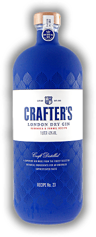Crafter's London Dry Gin Recipe No. 23 1,0 Liter