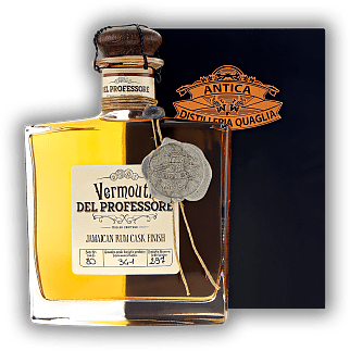 Del Professore Vermouth Jamaican Rum Finished