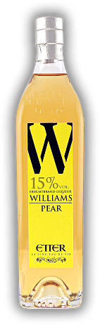 Etter Williams / Pear Fruchtbrand - Liqueur 15% New Generation