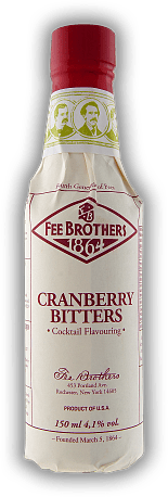 Fee Brothers Cranberry Bitters 0,15 Liter