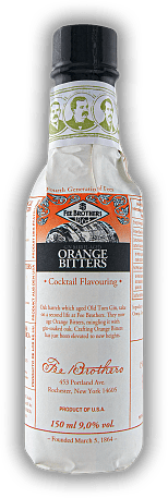 Fee Brothers Gin Barrel Aged Orange Bitters 0,15 Liter