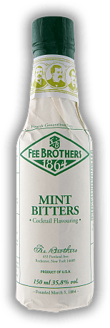 Fee Brothers Mint Bitters 0,15 Liter