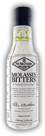 Fee Brothers Molasses Bitters 0,15 Liter