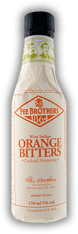 Fee Brothers Orange Bitters 0,15 Liter