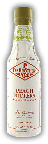 Fee Brothers Peach Bitters 0,15 Liter