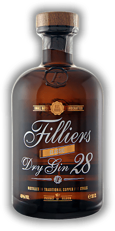 Filliers Dry Gin 28 Classic 0,5 Liter