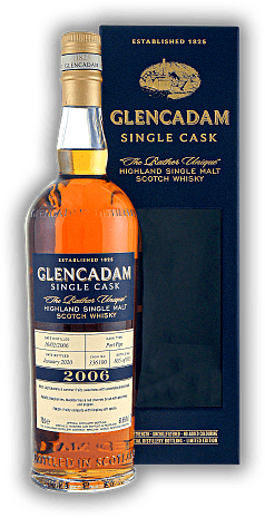Glencadam 13 Years 2006/2020 Single Cask Port Pipe No. 336100  61,6%
