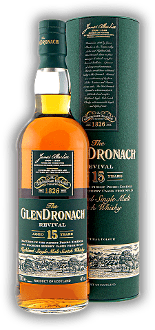 Glendronach 15 Years The Revival Oloroso Sherry Cask