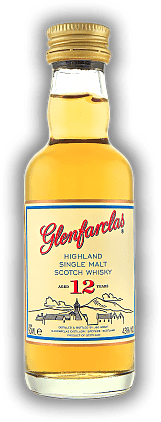 Glenfarclas 12 Years Single Malt Whisky 0,05 Liter