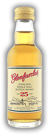 Glenfarclas 25 Years Single Malt Whisky 0,05 Liter