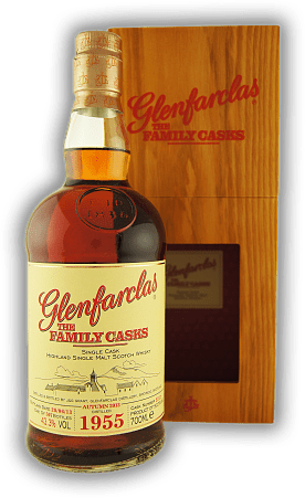 Glenfarclas The Family Casks 1955 Autumn 2013