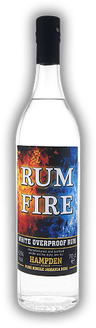 Hampden Estate Rum Fire White Overproof Rum 63%