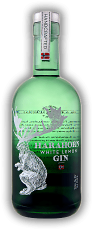 Harahorn Norwegian White Lemon Gin 0,5 Liter