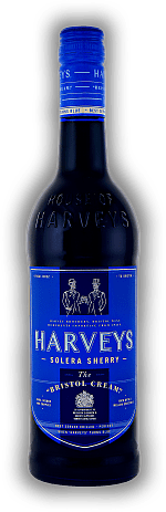 Harveys Bristol Cream Blue Bottle