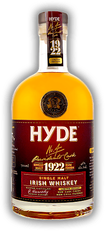 Hyde No.4 Irish Single Malt Whiskey Rum Finish