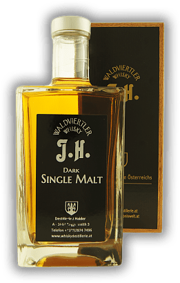 J. Haider Dark Single Malt Whisky 41%