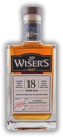 J.P. Wiser's 18 Years Old