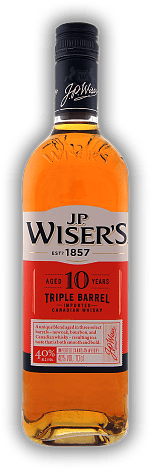 J.P. Wiser's Triple Barrel 10 Years Old