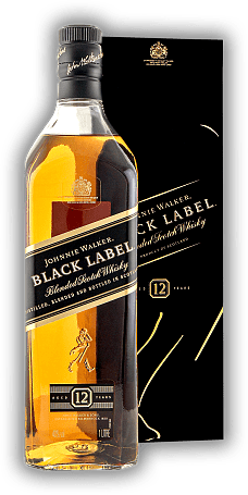 Johnnie Walker Black Label 12 Years 1,0 Liter