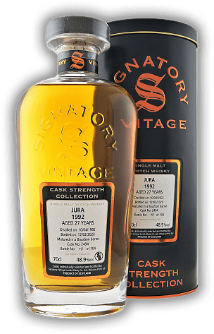 Jura Signatory Cask Strength Collection 27 Years 1992/2020 #2494 48,9%