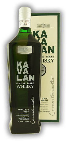 Kavalan Concertmaster Port Cask Finish Single Malt 40%