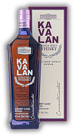 Kavalan Concertmaster Sherry Cask Finish Single Malt 40%