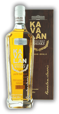 Kavalan Single Malt 40% 0,5 Liter
