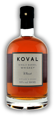 Koval Single Barrel Wheat Whiskey 55%