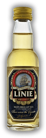 Linie Aquavit Lysholm Norwegen 0,04 Liter