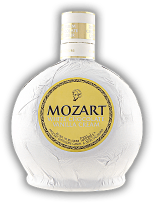 Mozart White Chocolate Vanilla Cream 1,0 Liter