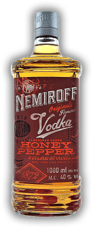 Nemiroff Vodka Honey Pepper 1,0 Liter
