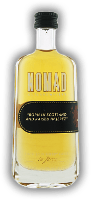 Nomad Blended Scotch Outland Whisky finished in Pedro Ximenez Sherry Casks 0,05 Liter