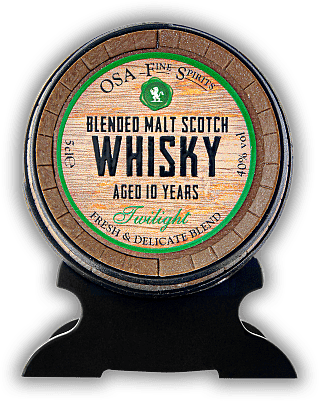 Old St. Andrews Whisky Barrel Malt Scotch Whisky Twilight 10 Years 0,05 Liter