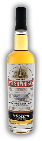 "Penderyn Icons of Wales N° 6 ""Royal Welsh Whisky"" Peated Portwood"