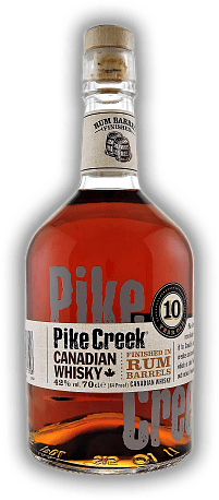 Pike Creek 10 Years Finished in Rum Barrels